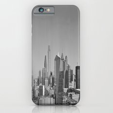 Black and White Philadelphia Skyline Slim Case iPhone 6