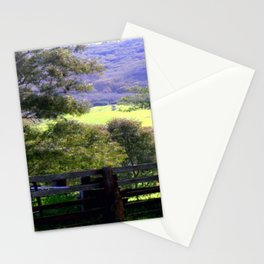 Cattle Yard Stationery Cards