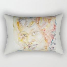 Berber woman Aquarelle Rectangular Pillow