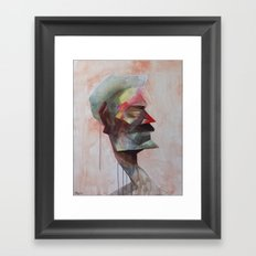 Drowsy Portraits - Bugged Framed Art Print