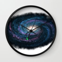 We are here Wall Clock