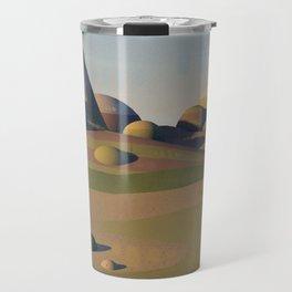 Geometric Landscape Travel Mug