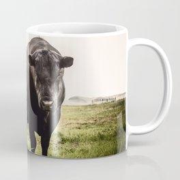 Big Black Angus Bull Coffee Mug