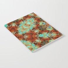 Scifi Rustic Geometric Notebook