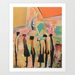 Color Your Soul Art Print
