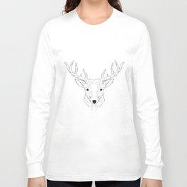 Deer Lines Long Sleeve T-shirt
