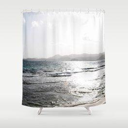 Shades of Sunrise Shower Curtain