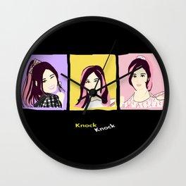 Knock Knock! Sana Version Wall Clock