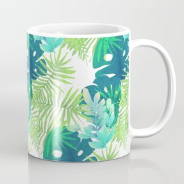 Tropical Leaves Coffee Mug