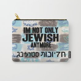 Not Only Jewish Carry-All Pouch
