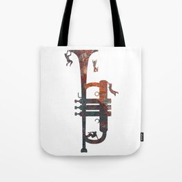 Jazzed Tote Bag