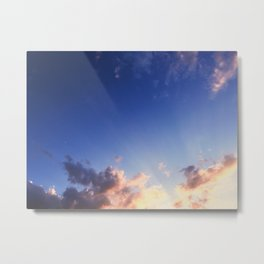 Splash of Heaven Metal Print