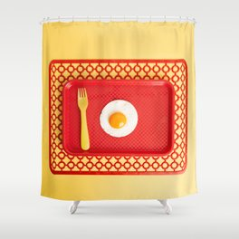 Egg tray Shower Curtain