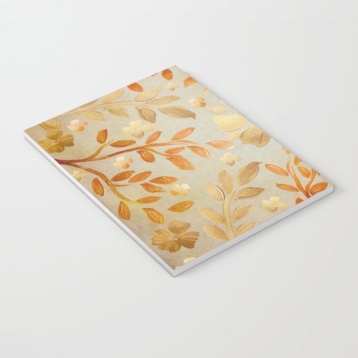 Golden Autumn Notebook