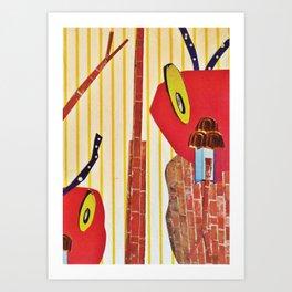 The cricket war2 Art Print
