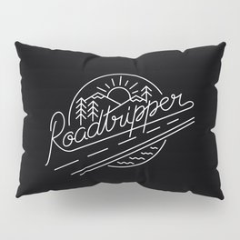 Roadtripper - white Pillow Sham