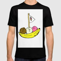 Banana Boat MEDIUM Mens Fitted Tee Black