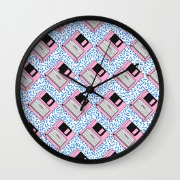 FLOPPIES!!! Wall Clock