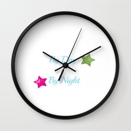 Nurse By day Wall Clock
