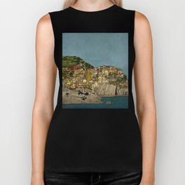 Of Houses and Hills Biker Tank