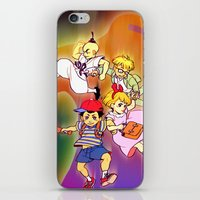 earthbound iPhone & iPod Skins featuring Earthbound by Robin