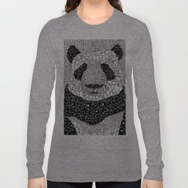 Panda Swarm of Bears Long Sleeve T-shirt