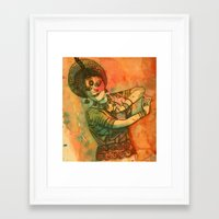 dancer Framed Art Prints featuring Dancer by Himadri Pachori