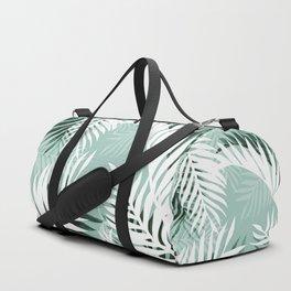 Tropical bliss - jungle green Duffle Bag