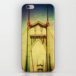 St. John's Bridge Portland Oregon iPhone Skin