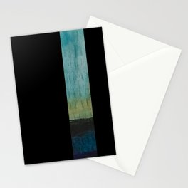 slow motion rain Stationery Cards