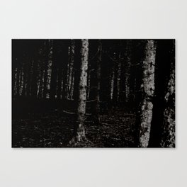 Forest Dark X Canvas Print