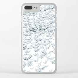 Wings of Peace Clear iPhone Case