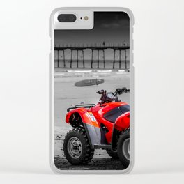 On Watch Clear iPhone Case