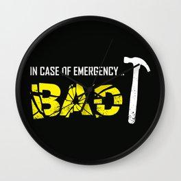 Emergency Break Wall Clock