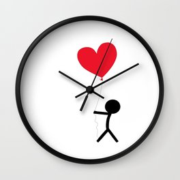 I give you my love by Oliver Henggeler Wall Clock