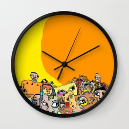 WHPK Saturday [COLOR VERSION] Wall Clock