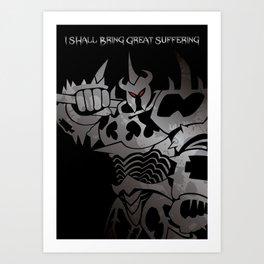 LoL - Mordekaiser, The Master of Metal Art Print