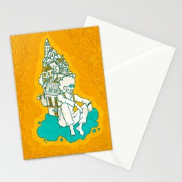 Lost in the right direction Stationery Cards