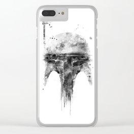 Boba Fett Clear iPhone Case