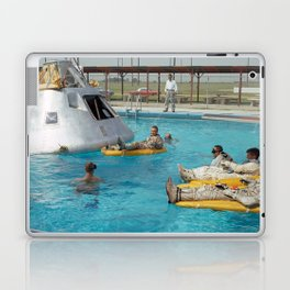Apollo 1 - Relaxing by the Swimming Pool Laptop & iPad Skin