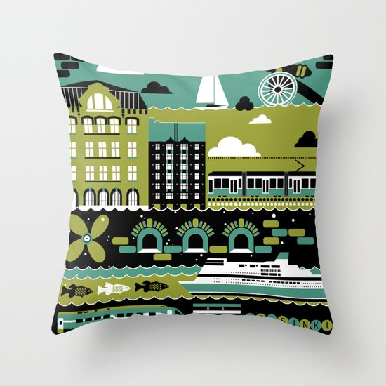 Helsinki Throw Pillow