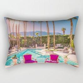 2381 Mid-Century Modern Stanbridge Estate Palm Springs Rectangular Pillow
