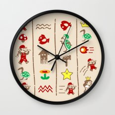 The Legend of Mario Wall Clock