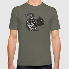 I'M SO NUTS OVER YOU Mens Fitted Tee Lieutenant SMALL
