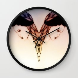 Miss Ambiguo Wall Clock