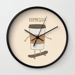 expresso Wall Clock