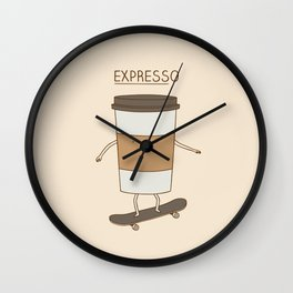 expresso Wall Clock