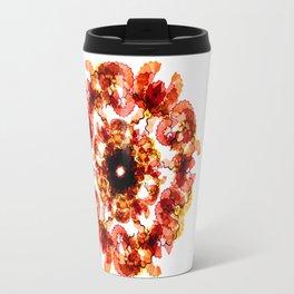 Illustrator's Mandala Travel Mug