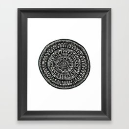 mandala 1.1 Framed Art Print