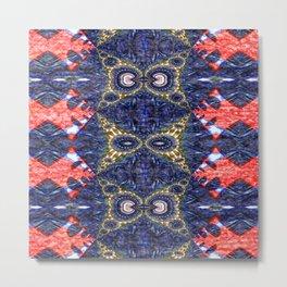 Vibrational Pattern 12 Metal Print